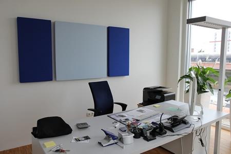 Ofis Akustik Kaplama Uygulaması